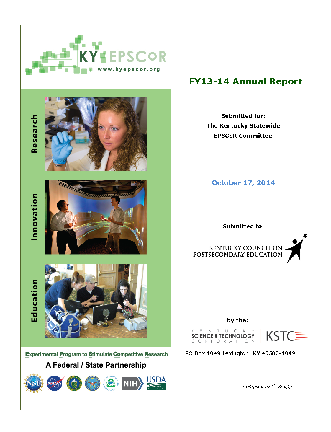 Cover Annual Report FY13-14